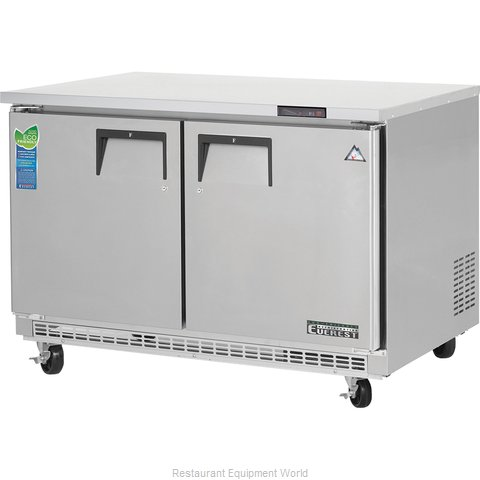 Everest Refrigeration ETBF2 Freezer, Undercounter, Reach-In