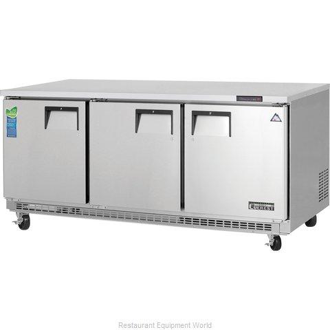 Everest Refrigeration ETBF3 Freezer, Undercounter, Reach-In
