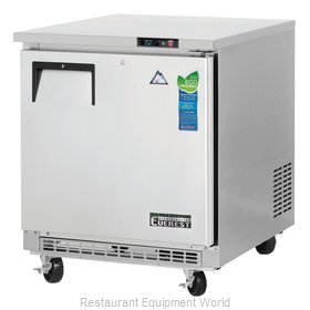 Everest Refrigeration ETBR1 Refrigerator, Undercounter, Reach-In
