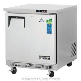Everest Refrigeration ETBR1 Refrigerator, Undercounter, Reach-In