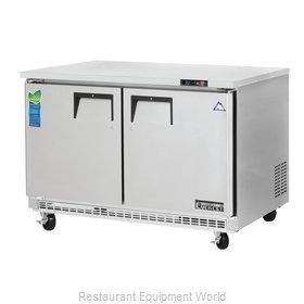 Everest Refrigeration ETBR2 Refrigerator, Undercounter, Reach-In