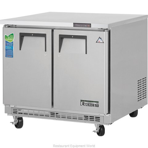 Everest Refrigeration ETBSF2 Freezer, Undercounter, Reach-In (Magnified)