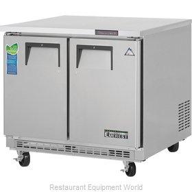 Everest Refrigeration ETBSF2 Freezer, Undercounter, Reach-In