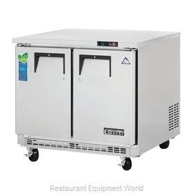 Everest Refrigeration ETBSR2 Refrigerator, Undercounter, Reach-In