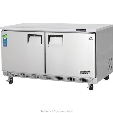 Everest Refrigeration ETBWF2 Freezer, Undercounter, Reach-In