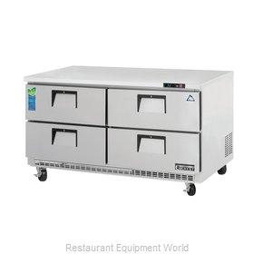Everest Refrigeration ETBWR2-D4 Refrigerator, Undercounter, Reach-In