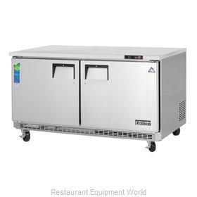 Everest Refrigeration ETBWR2 Refrigerator, Undercounter, Reach-In