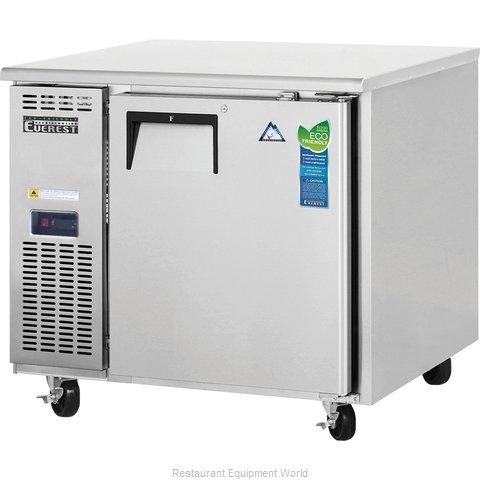 Everest Refrigeration ETF1 Freezer, Undercounter, Reach-In
