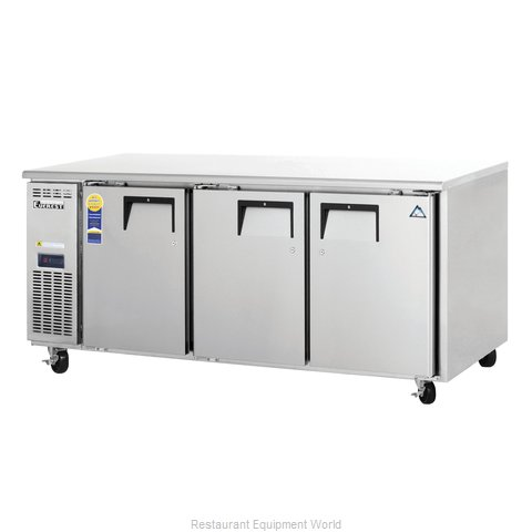 Everest Refrigeration ETF3 Freezer, Undercounter, Reach-In