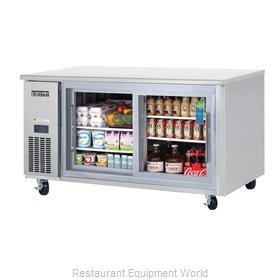 Everest Refrigeration ETGR2 Refrigerator, Undercounter, Reach-In