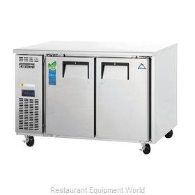 Everest Refrigeration ETR2 Refrigerator, Undercounter, Reach-In