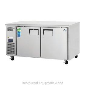 Everest Refrigeration ETWR2 Refrigerator, Undercounter, Reach-In