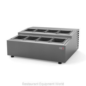 Fagor Refrigeration CPR-8 Refrigerated Countertop Pan Rail