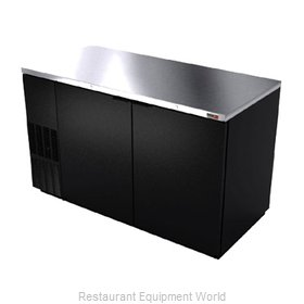 Fagor Refrigeration FBB-59-N Back Bar Cabinet, Refrigerated