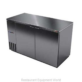 Fagor Refrigeration FBB-59S-DT Backbar Cabinet, Refrigerated
