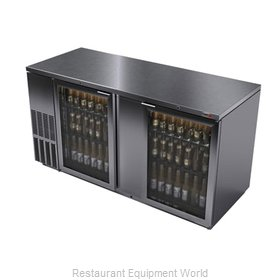 Fagor Refrigeration FBB-69GS Backbar Cabinet, Refrigerated