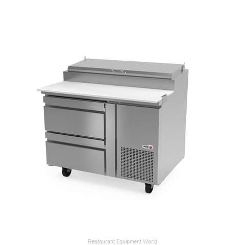 Fagor Refrigeration FPT-46-D2 Refrigerated Counter, Pizza Prep Table