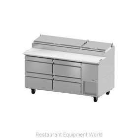 Fagor Refrigeration FPT-67-D4 Refrigerated Counter, Pizza Prep Table