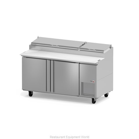 Fagor Refrigeration FPT-67 Refrigerated Counter, Pizza Prep Table