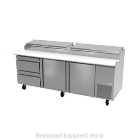Fagor Refrigeration FPT-93-D2 Refrigerated Counter, Pizza Prep Table