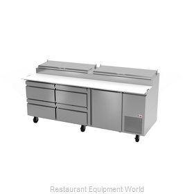 Fagor Refrigeration FPT-93-D4 Refrigerated Counter, Pizza Prep Table
