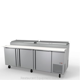 Fagor Refrigeration FPT-93 Refrigerated Counter, Pizza Prep Table