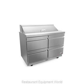 Fagor Refrigeration FST-48-12-D4-N Refrigerated Counter, Sandwich / Salad Top