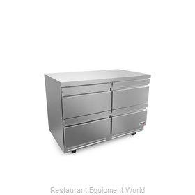 Fagor Refrigeration FUR-48-D4-N Refrigerator, Undercounter, Reach-In