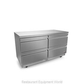 Fagor Refrigeration FUR-60-D4-N Refrigerator, Undercounter, Reach-In