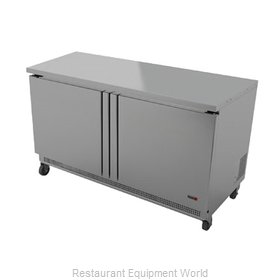 Fagor Refrigeration FWF-48 Freezer Counter, Work Top