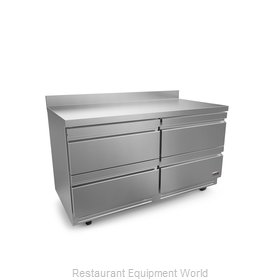 Fagor Refrigeration FWR-60-D4-N Refrigerated Counter, Work Top