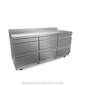 Fagor Refrigeration FWR-72-D6-N Refrigerated Counter, Work Top