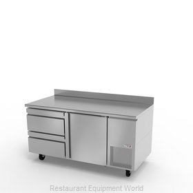 Fagor Refrigeration SWR-67-D2 Refrigerated Counter, Work Top