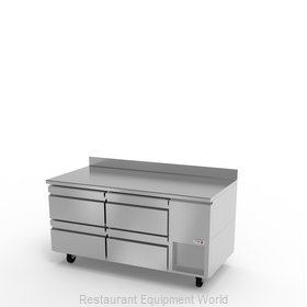 Fagor Refrigeration SWR-67-D4 Refrigerated Counter, Work Top