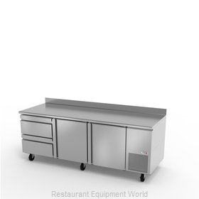 Fagor Refrigeration SWR-93-D2 Refrigerated Counter, Work Top