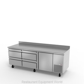 Fagor Refrigeration SWR-93-D4 Refrigerated Counter, Work Top