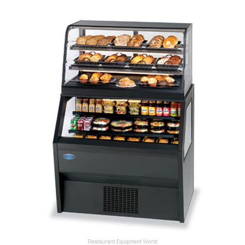 Federal Industries 2CD3628/RSS6SC Display Case, Refrigerated/Non-Refrig