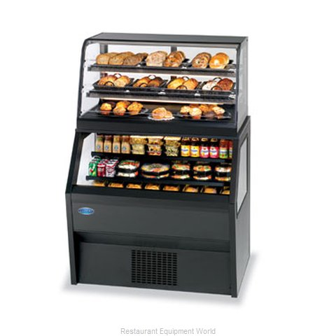 Federal Industries 2CD3628SS/RSS6SC Display Case, Refrigerated/Non-Refrig