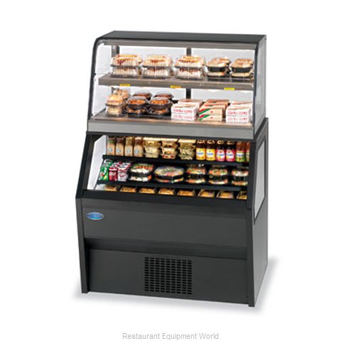 Federal Industries 2CH3628/RSS6SC Display Case, Refrigerated/Non-Refrig