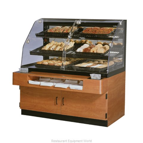 Federal Industries BPFD-54SS Display Case Non-Refrigerated Bakery