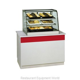 Federal Industries CD3628 Display Case, Non-Refrigerated Countertop