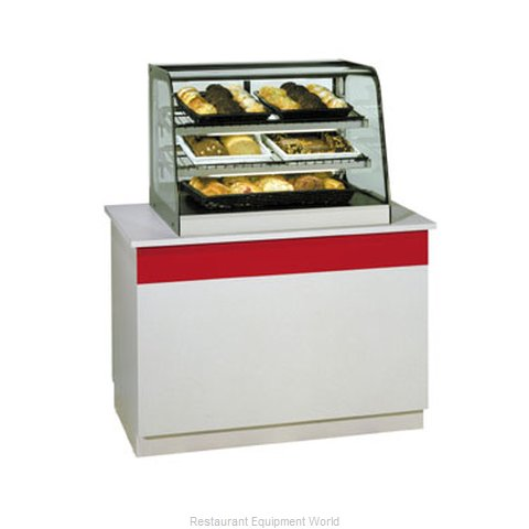 Federal Industries CD4828 Display Case Non-Refrigerated Countertop