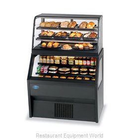 Federal Industries CD4828SS/RSS4SC Display Case, Refrigerated/Non-Refrig