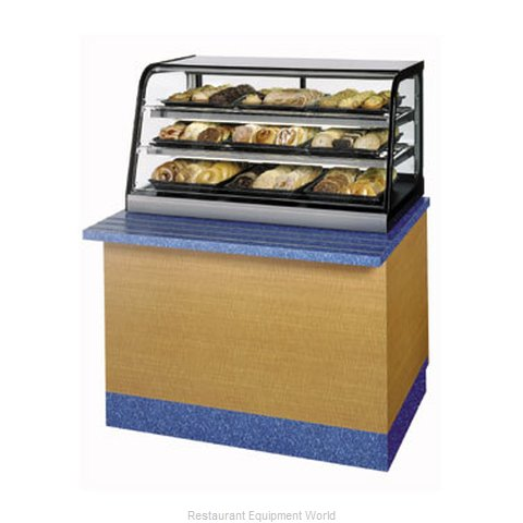 Federal Industries CD4828SS Display Case Non-Refrigerated Countertop