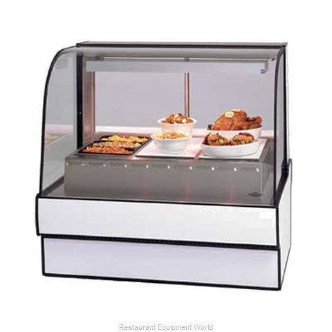 Federal Industries CG5948HD Display Case Heated Deli Floor Model