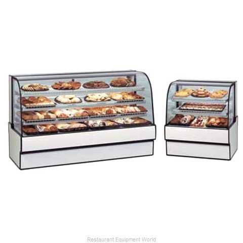 Federal Industries CGD7742 Display Case, Non-Refrigerated Bakery