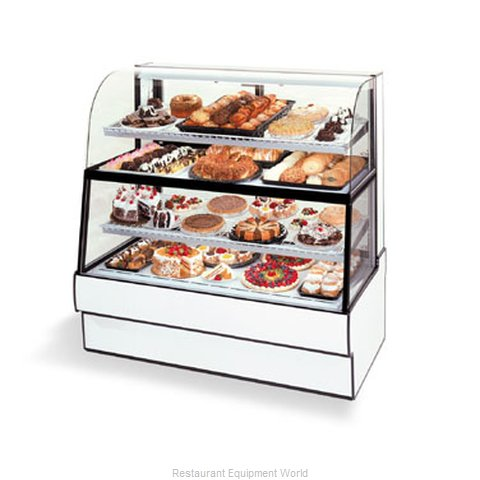 Federal Industries CGR3660DZH Display Case Refrigerated Non-Refrig