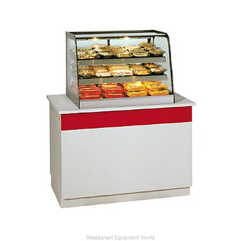 Federal Industries CH2428 Display Case, Hot Food, Countertop