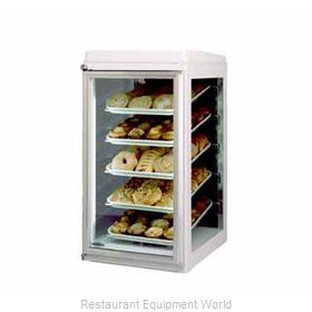 Federal Industries CK-10 Display Case, Non-Refrigerated Countertop