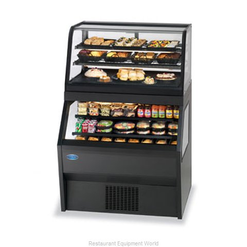 Federal Industries CRR4828/RSS4SC Display Case Refrigerated Non-Refrig